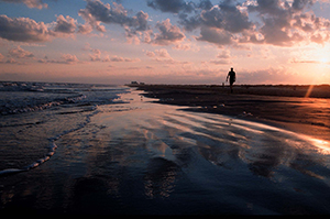 Galveston Island is a short drive from Pearland