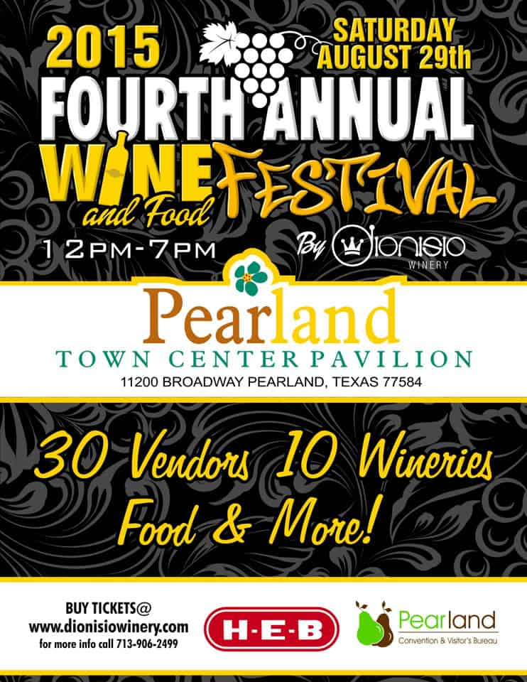 Pearland Food And Wine Festival