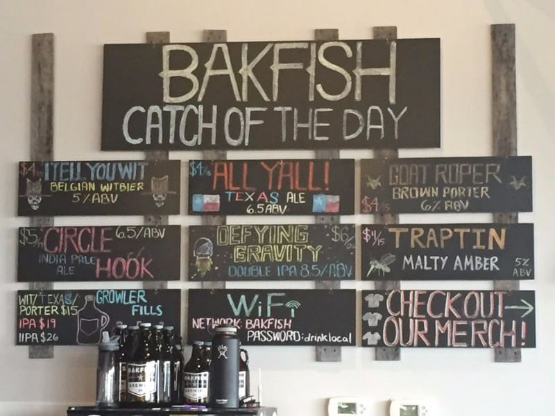 Bakfish brewing company pearland texas convention visitor s bureau