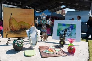 Pearland Art & Crafts on the Pavilion event held annually in Pearland
