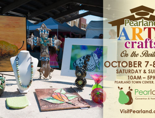 Handcrafted Art, Local Artisans, Live Music & More  Featured at Pearland Art & Crafts on the Pavilion