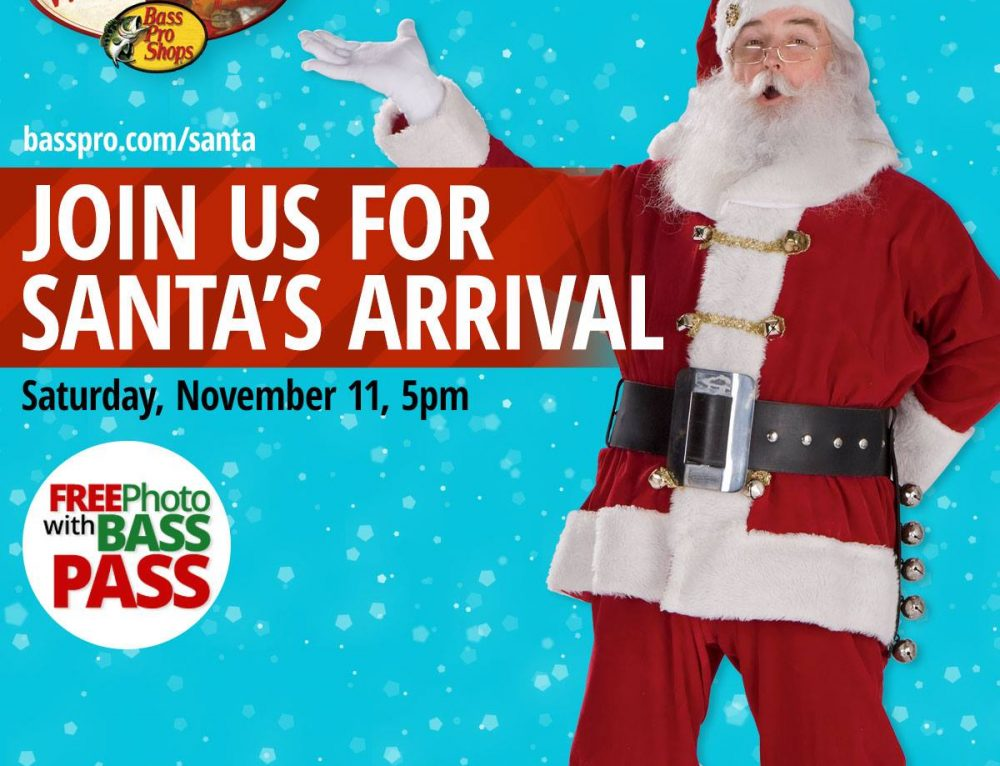 Santa's Wonderland at Bass Pro Shops Pearland Preview November 11
