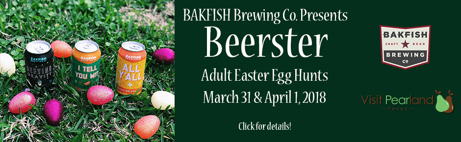 Beerster in Pearland at BAKFISH Brewing Co
