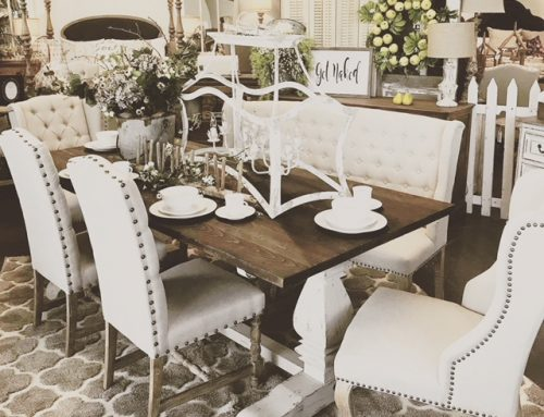 High-end farmhouse style found at Altar'd Interiors Pearland store