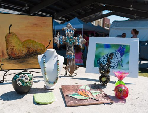 Annual Pearland Art & Crafts on the Pavilion Curated Market of Handcrafted Pieces