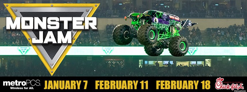 Monster Jam At NRG Stadium Pearland Texas Convention Visitors - Monster car show houston tx