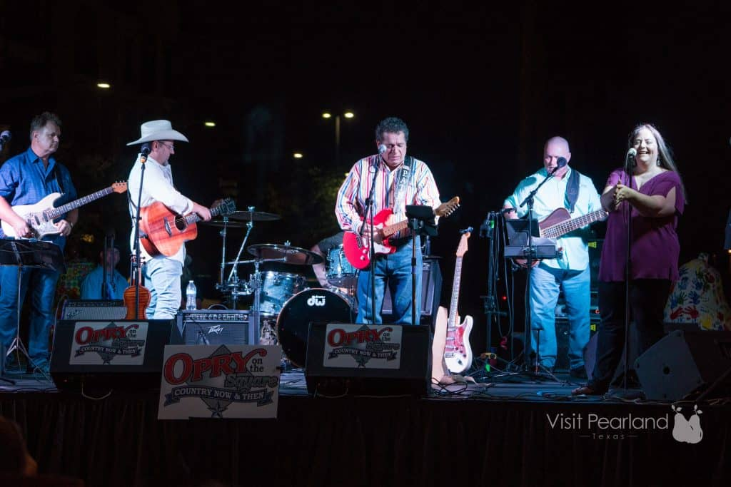 Freddie Pate at Pearland Opry on the Square