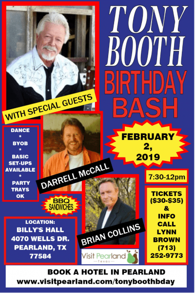tony Booth Birthday Bash