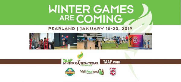 TAAF Winter Games of Texas in Pearland