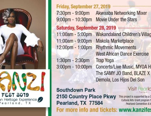 2nd Annual KANZI Fest Coming to Pearland